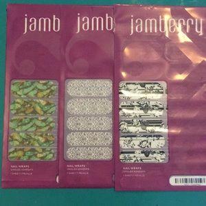 Jamberry Nail Wrap bundle (set of 3)